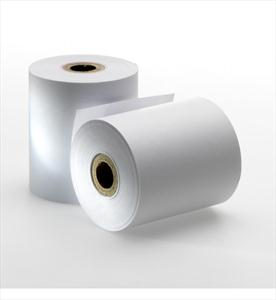 3 in. (76 mm) White Bond Rolls for AURORA: PR710, PR720, PR7830, PR5100.